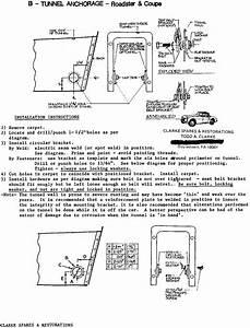 Vehicle Seat Belt Diagram