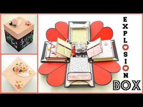 valentines day exploding heart box kalpli kutu yapimi