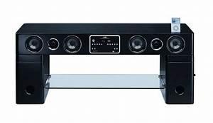 Meuble De Télé Conforama : meuble tv haut parleur integre ~ Teatrodelosmanantiales.com Idées de Décoration