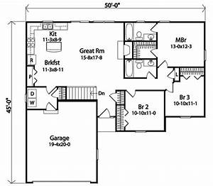 Affordable, Ranch, With, Alternate, Exterior, -, 22084sl