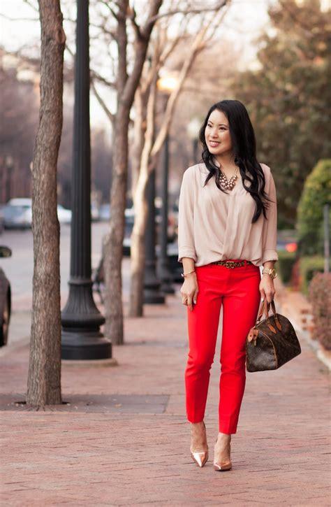 Red Pants - cute u0026 little | Dallas Petite Fashion Blogger