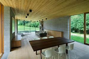 photo interieur de maison contemporaine With interieur maison bois contemporaine