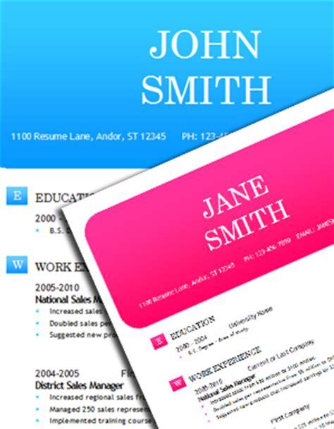 worddraw free word resume templates