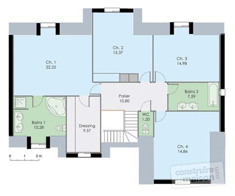 plan maison plain pied 3 chambre demeure familiale 2 dé du plan de demeure familiale