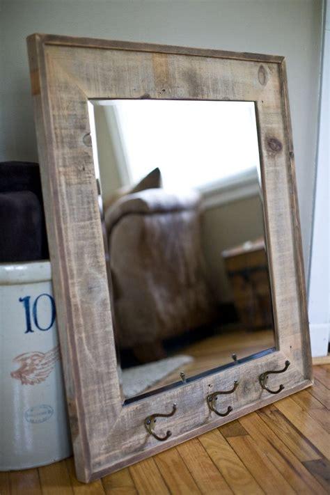 reclaimed barnwood framed mirror frame mirrors