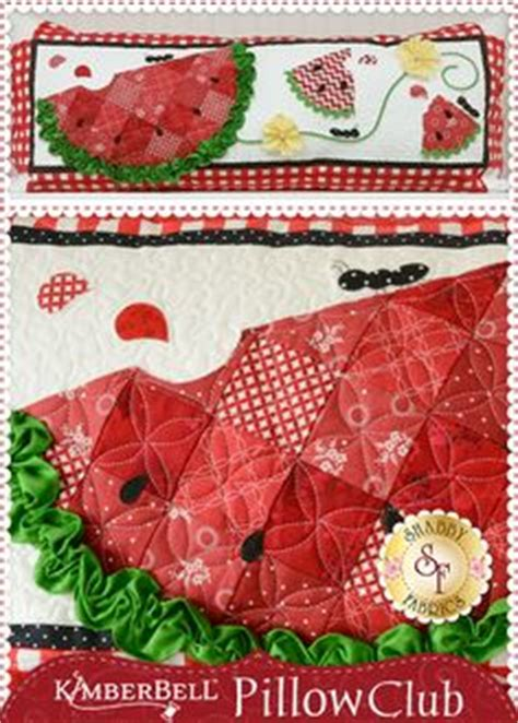 shabby fabrics pillow club 1000 images about watermelon applique quilt patterns on pinterest watermelon watermelon