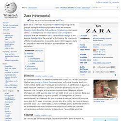 zara siege social en quoi peut on dire que zara est une entreprise