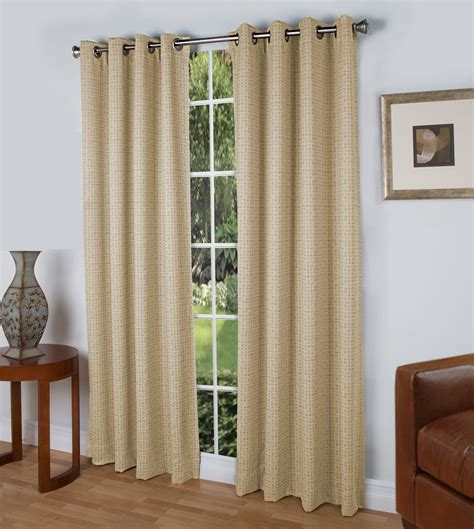 Grommet Curtains by Steps Insulated Grommet Top Curtain Panel