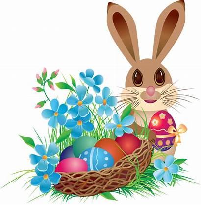 Easter Bunny Basket Clip Clipart Printable Bug