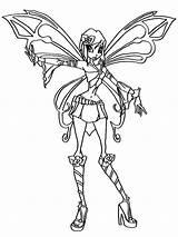 Tecna Sophix Elfkena Bw Charmix Aquatix sketch template