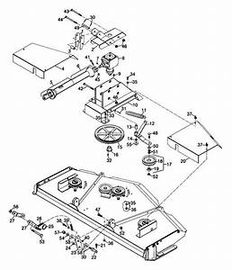 Woods Rm600 Rearmount Finish Mower Mounting Assembly