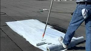 How To Install Elastomeric Roof Coating - Flat Roofs