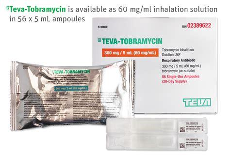 Teva Canada Announces the Launch of (Pr)Teva-Tobramycin ...