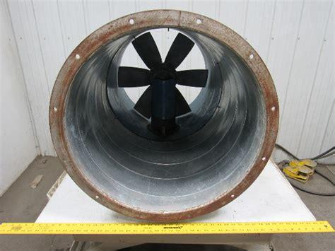 binks     paint booth exhaust fan tubeaxial