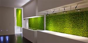 Beautify your home with an original vertical garden for Interior design grass wall
