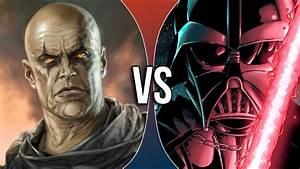 VS | Darth Bane vs Darth Vader - YouTube
