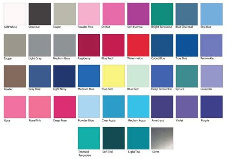 cool summer color palette clothing color palette on summer color