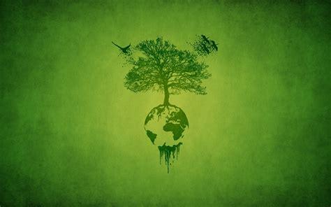 bureau de change 10 earth tree birds green ecology minimalism hd