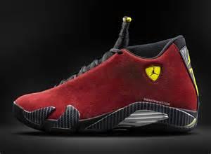 Red Suede Air Jordan 14