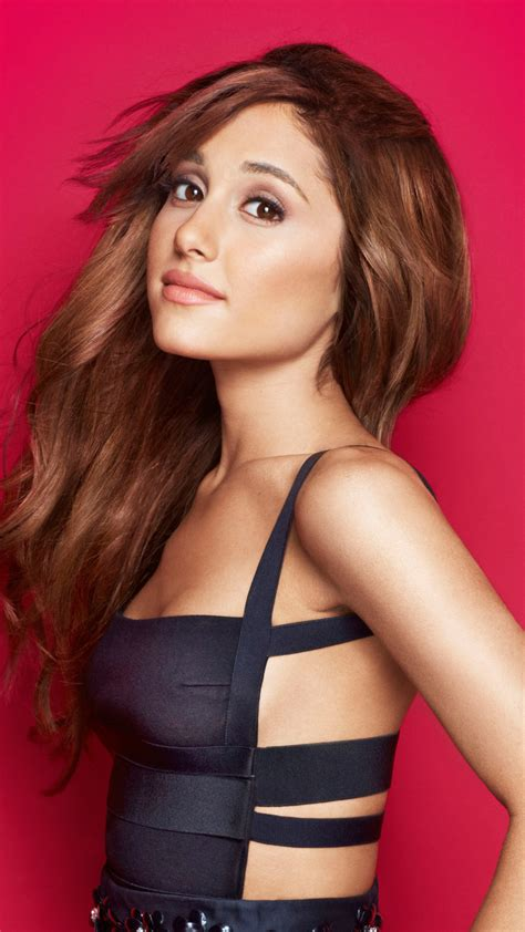 Слушать песни и музыку ariana grande (ариана гранде) онлайн. 1080x1920 Beautiful Ariana Grande In A Black Dress Iphone 7, 6s, 6 Plus and Pixel XL ,One Plus 3 ...