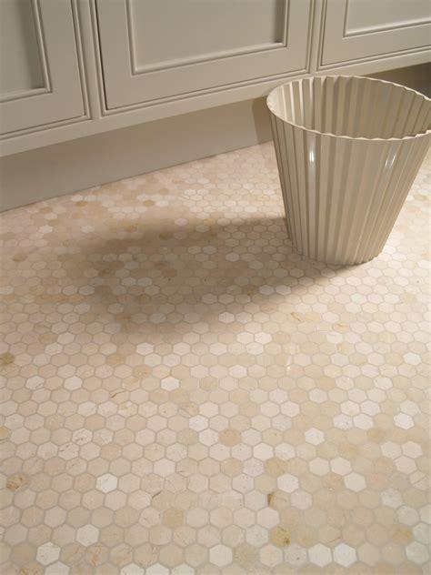 marble hexagon floor tile bathroom crema marfil hexagon marble mosaic the color of the