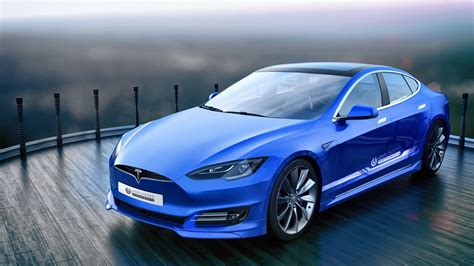 tuning company proposes  face   tesla model