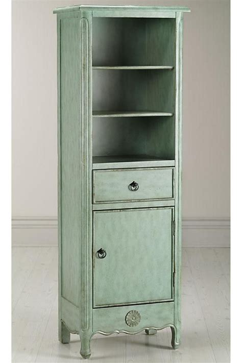 narrow linen cabinet antiqued blue linen cabinet there s no place like home