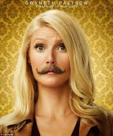Gwyneth Paltrow and Johnny Depp Mortdecai posters see them