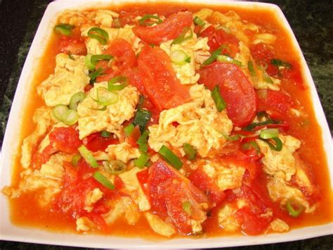 Egg And Tomato Chinese Recipe Sunflower Food Galore Scrambled Egg With Tomato 西紅柿炒雞蛋 番茄炒蛋