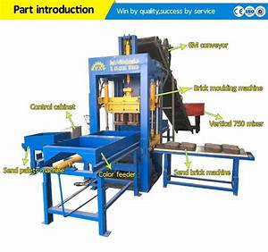 Italy Automatic Concrete Block Making Machine 6 Inches ...
