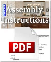 Kitchen Cabinets Installation Manual by Cabinet Assembly