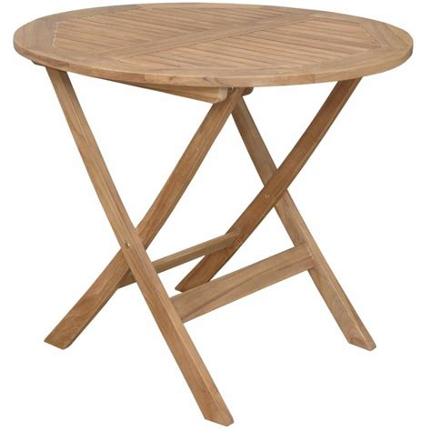 teak chester folding patio end table ultimate patio