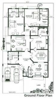1 knal house ground floor plan forst floor plan double