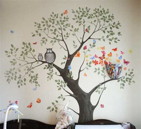 Tree Wall Decor Ideas by Wall Ideas To Beautify Any Room 187 Inoutinterior