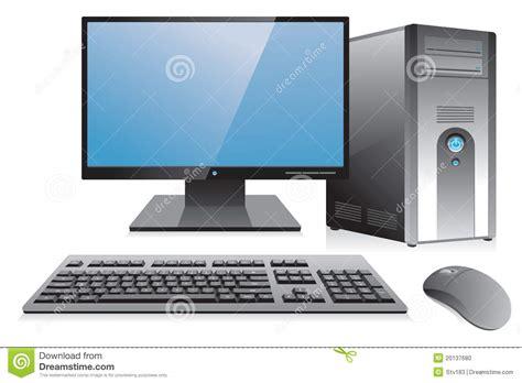 bureau poste de travail poste de travail d 39 ordinateur de bureau photo stock