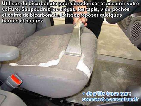 nettoyer siege voiture bicarbonate enfin une astuce pour désodoriser à fond l 39 intérieur de