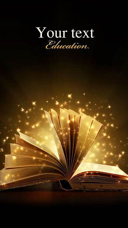 Books Magic Creative Iphone Wallpapers Android Turning