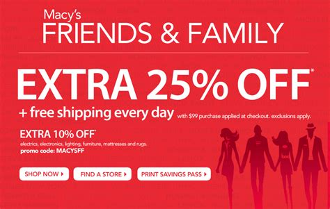my3sonsmom macy s friends family printable coupon