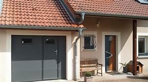 Porte De Garage Sectionnelle Avec Porte : galerie portes de garage weigerding ~ Edinachiropracticcenter.com Idées de Décoration