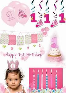 Deko Für 1 Geburtstag : s e deko f r den 1 geburtstag in pink und blau baby belly party blog ~ Buech-reservation.com Haus und Dekorationen