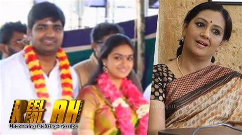 tamil actress keerthi suresh mother photos keerthi suresh mother menaka angry with comedy actor