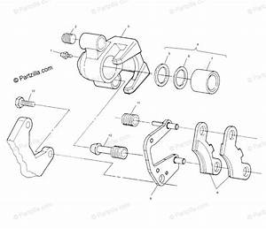 Polaris Atv 2000 Oem Parts Diagram For Front Brake