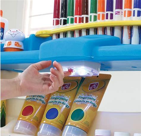 step2 deluxe art desk with splat mat kohl 39 s step2 deluxe art desk as low as 41 99 reg 99