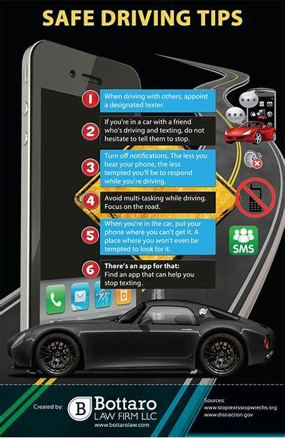 Driving Safety Tips Safe Distracted Drivers Drive