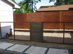 custom modern dog run fence With custom dog runs