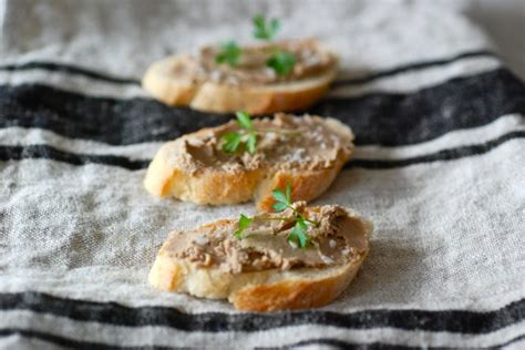 pate canapes chicken liver pâté with port and thyme day 5 of the 12