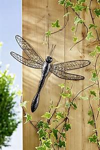 Wanddeko Für Draußen : wanddeko libelle gr e 35 cm jetzt bei bestellen ~ Eleganceandgraceweddings.com Haus und Dekorationen