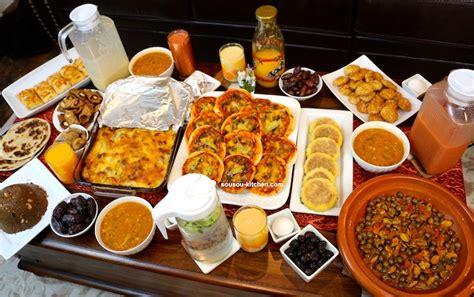 chhiwate ramadan cuisine marocaine ma table de flour chhiwat ramadan 2017 sousoukitchen