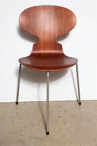 Arne Jacobsen Ant Chair : set of 4 arne jacobsen ant chairs at 1stdibs ~ Markanthonyermac.com Haus und Dekorationen