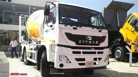 eicher launches pro xm displays pro  trucks